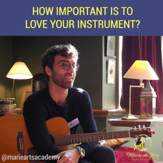 How Important Is To Love Your Instrument