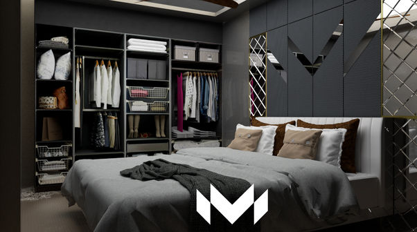 Dark interior design can bring delicious results. Bold black living rooms make an immediate strong statement to everyone who enters into the home. And Soft bedroom lighting creates a relaxing ambiance.