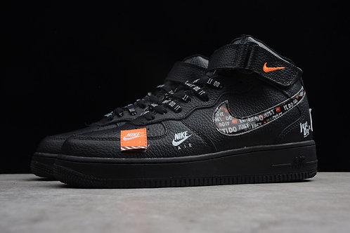 Nike air force just do it черные