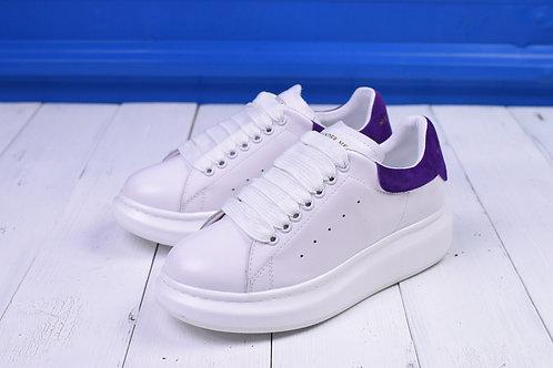 Alexander McQueen бело-фиолетовые