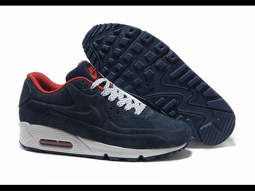 Nike air max 90 VT синие (С МЕХОМ)