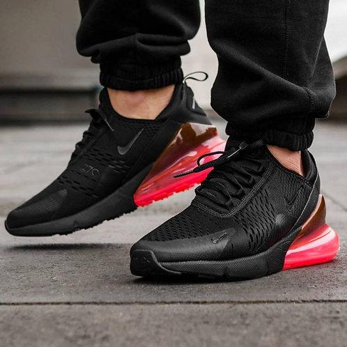 Nike air max 270 черно-красные 2