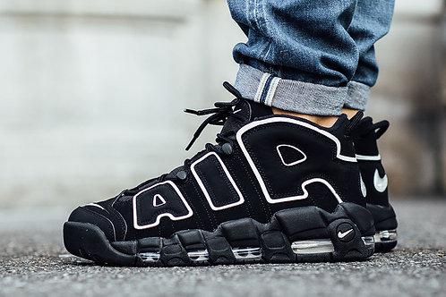 Nike air more uptempo черные