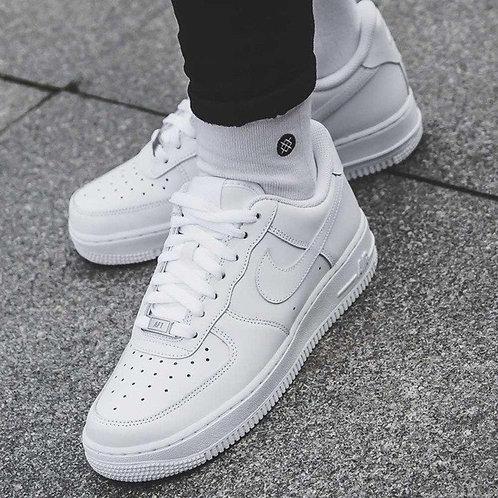 Nike air force белые низкие
