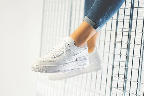 Nike air force shadow белые