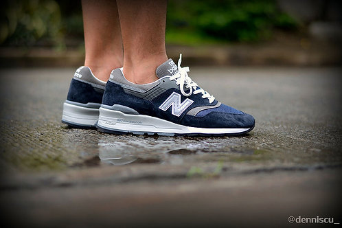 New balance 997 синие