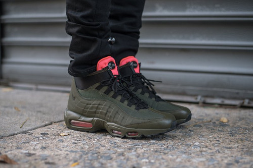 6a812dc0 Nike air max 95 sneakerboot зеленые