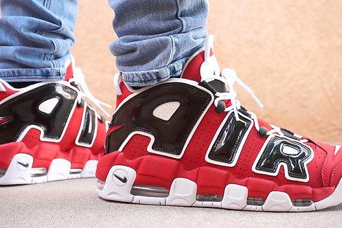 Nike air more uptempo красные