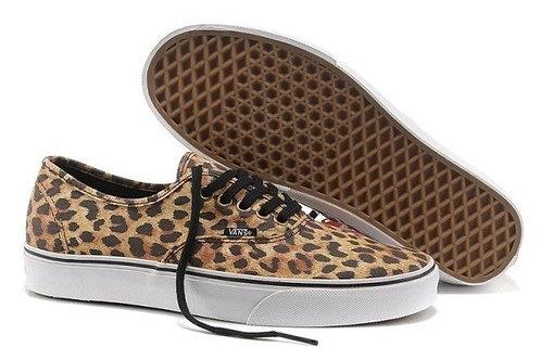 Vans леопардовые