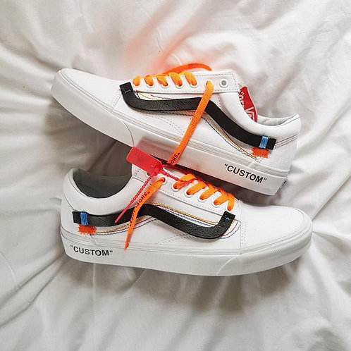 Vans old skool off white белые
