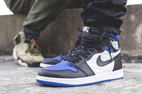 Nike air Jordan 1 white royal