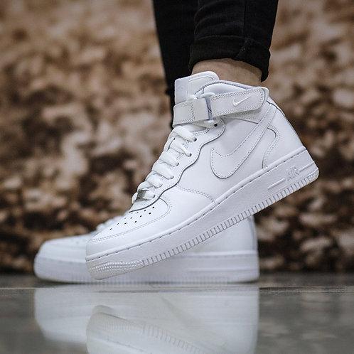 Nike air force белые (С МЕХОМ)