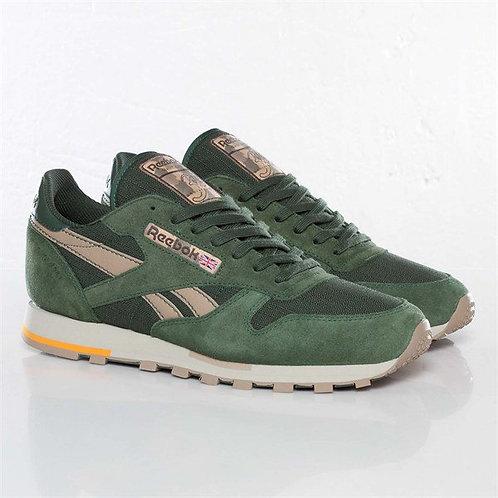 Reebok classic зеленые