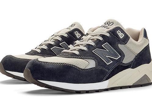New balance 580 серо-синие