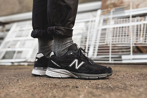 New balance 990v4 черные
