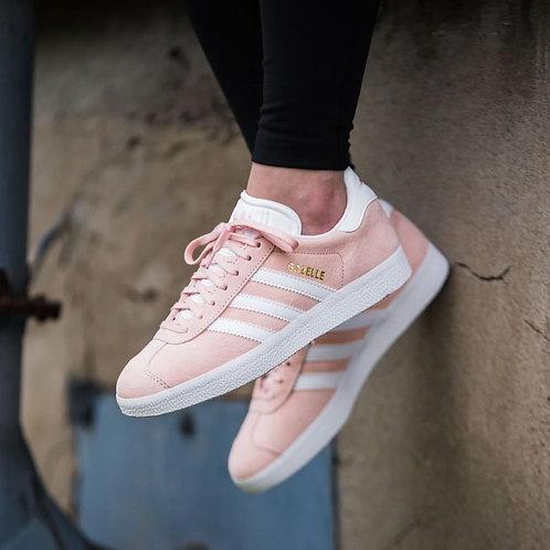 Adidas gazelle розовые