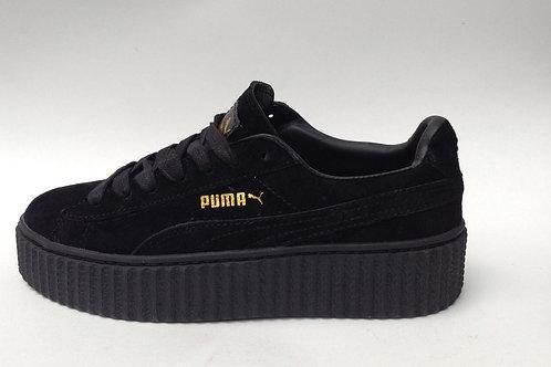 Puma suede creepers Rihanna черные
