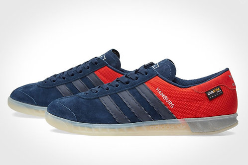 Adidas Hamburg красно-синие