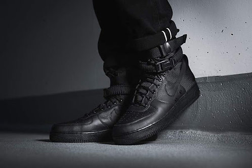 Nike air force special field черные