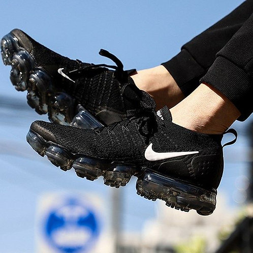 Nike air vapormax черные
