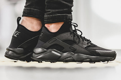 Nike air huarache ultra черные