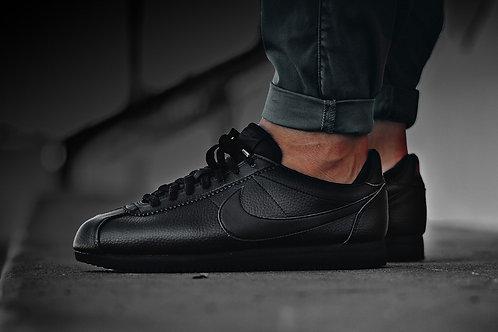 Nike cortez черные