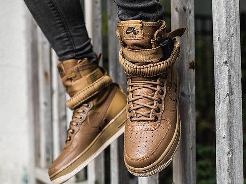 Nike air force special field коричневые
