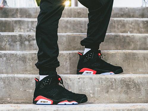 Nike air Jordan 6 черные