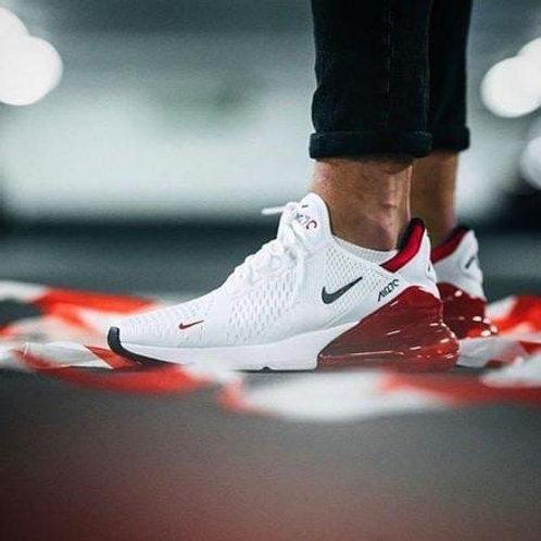 Nike air max 270 бело-красные
