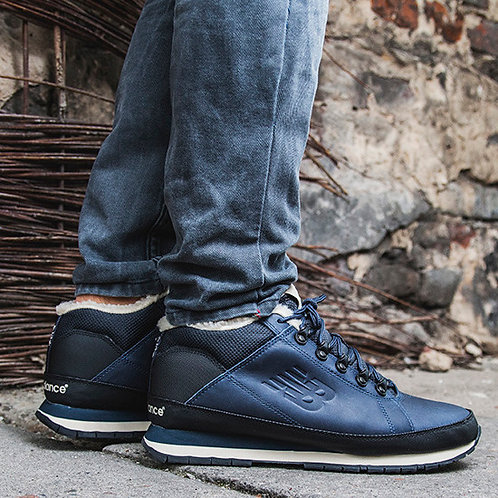 New balance 754 синие (С МЕХОМ)