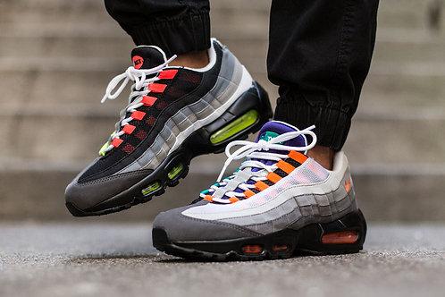 Nike air max 95 разноцветные