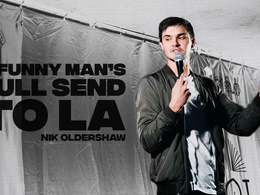 Nik Oldershaw: A Funny Man's Full-Send to LA