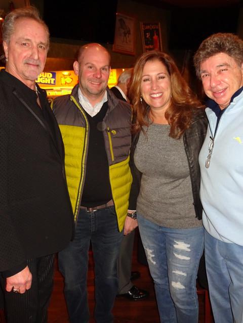 James Motgomery, Chris, Lisa & Dennis Serpone
