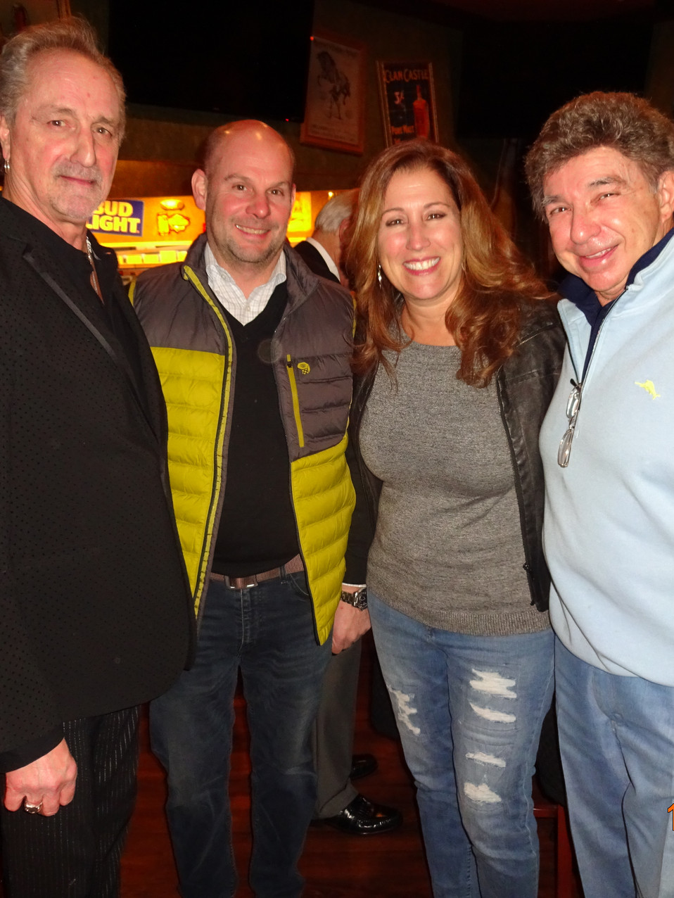 James Motgomery, Chris, Lisa & Dennis Serpone