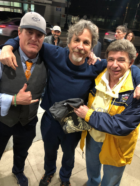 I was interviewed about the genesis of SWEENEY KILLING SWEENEY and it recent screening in Hollywood. In attendance in Hollywood, and an enthusiastic supporter, was this year's Oscar winner, Peter Farrelly and legendary award-winning producer/director, and editor Kris Meyer.