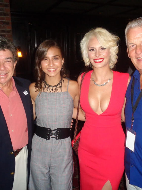 Left to Right: Dennis Serpone Nicole Michelle (15 Y.O. Star & Actress