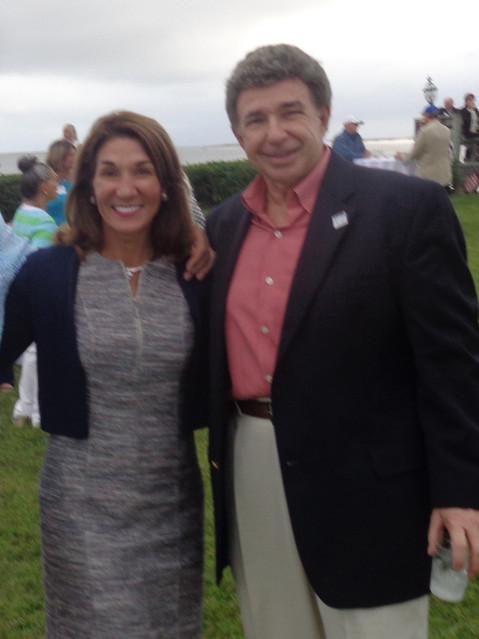 Lt. Gov. Karen Polito of Massachusetts and Dennis Serpone