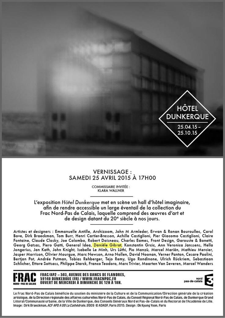 Exposition au FRAC/AP2 de Dunkerque