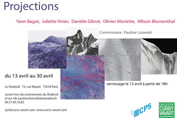 13/30/17 exposition Projections au Shakirail