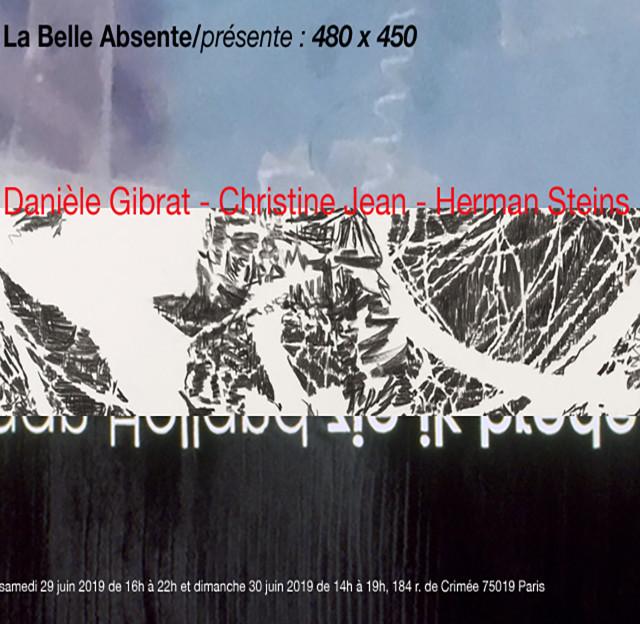 La Belle Absente / présente : Danièle Gibrat - Christine Jan- Herman Steins