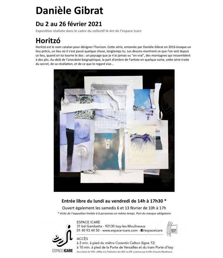 Horitzó, première exposition de la série
