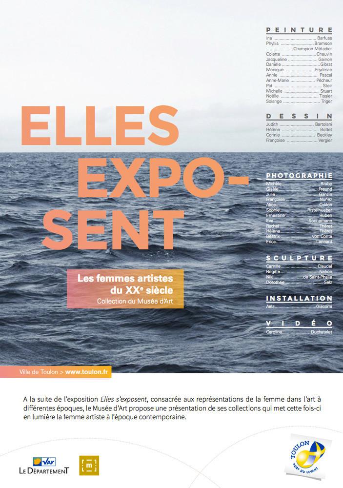 """Toulon, Musée des Arts, """"Elles exposent"""" 5 mars au 3 septembre 2017"""