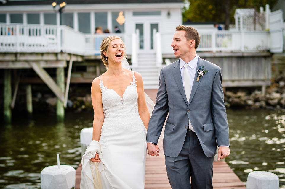 Celebrations at the bay Wedding Photos