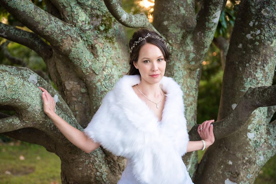 Richmond wedding photographers   Marek K. Photography   Beautiful natural light bridal portrait at Belle Isle State Park