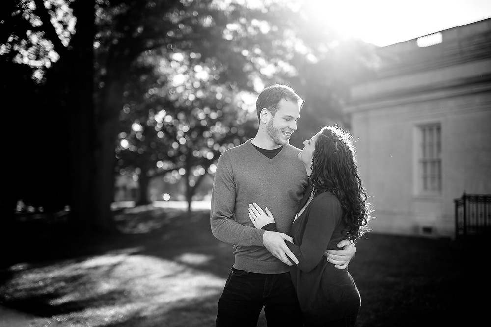 VMFA Engagement Richmond Wedding photographer