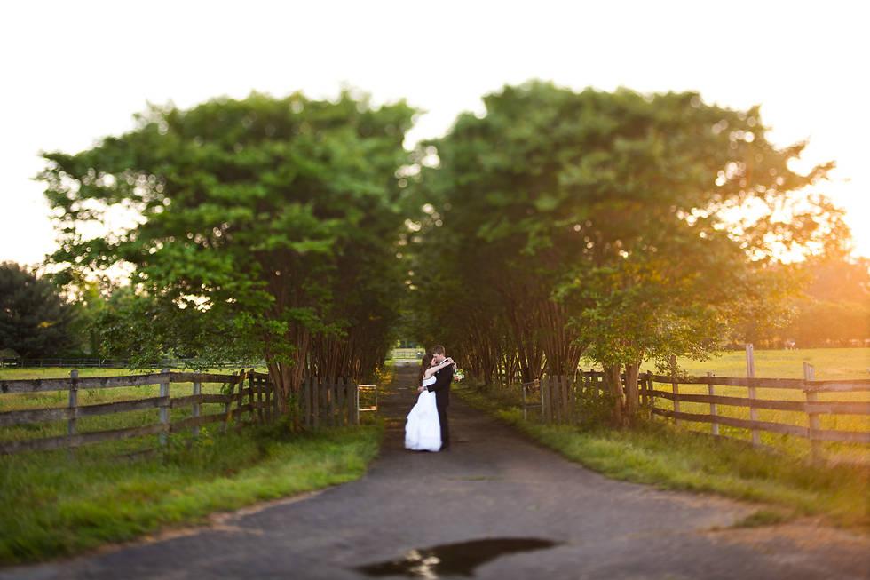Tilt shift wedding photography | Marek K. Photography | Pole Green Church Wedding