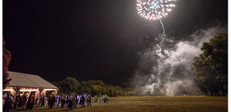 Wedding firework show taken by marek k. photograhy.