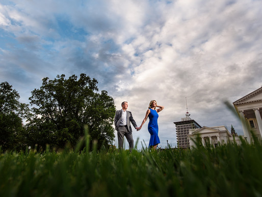 Jamie & Jim - Richmond, VA Capital Engagement Session