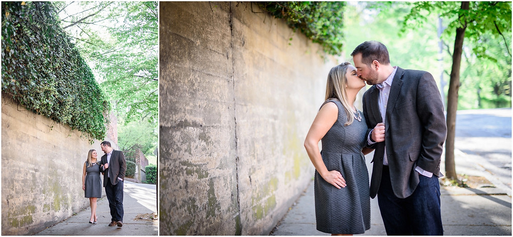 natural light engagement photography richmond va