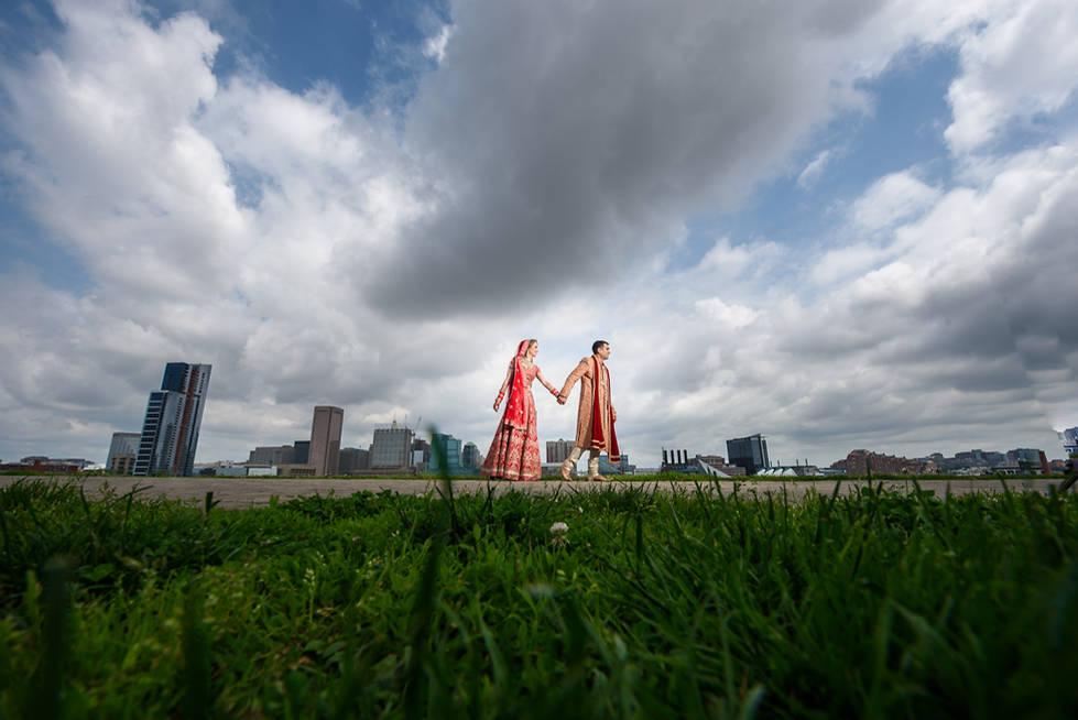 Richmond wedding photographer | Marek K. Photography | Batlimore Marriot Indian Wedding